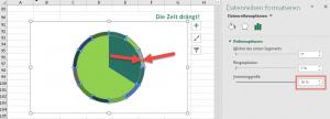 Äußere Datenreihe formatieren