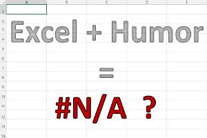 Excel-Humor