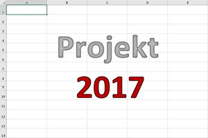 Ein kleiner Projektplan mit Gantt-Diagramm