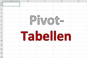 Excel Pivot-Tabellen (mein neues Buch)