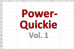 Power Quickies (Vol 1)