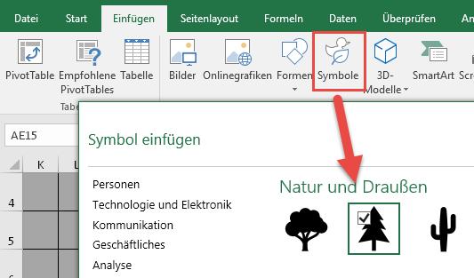 Tannenbaum Diagramm.Das How To Zum Christbaum Simulator Der Tabellen Experte