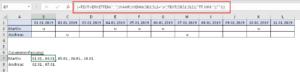 Datumswerte im richtigen Format darstellen