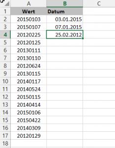 Beispiel 3: Arbeiten mit Zahlen