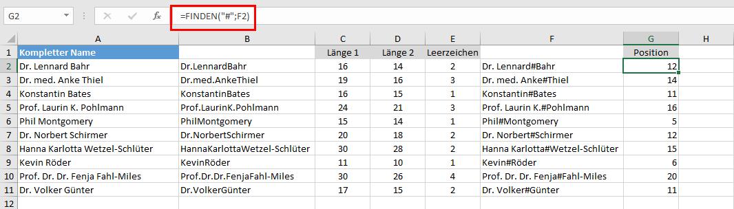Wer hat das letzte Wort in Excel?   Der Tabellen-Experte