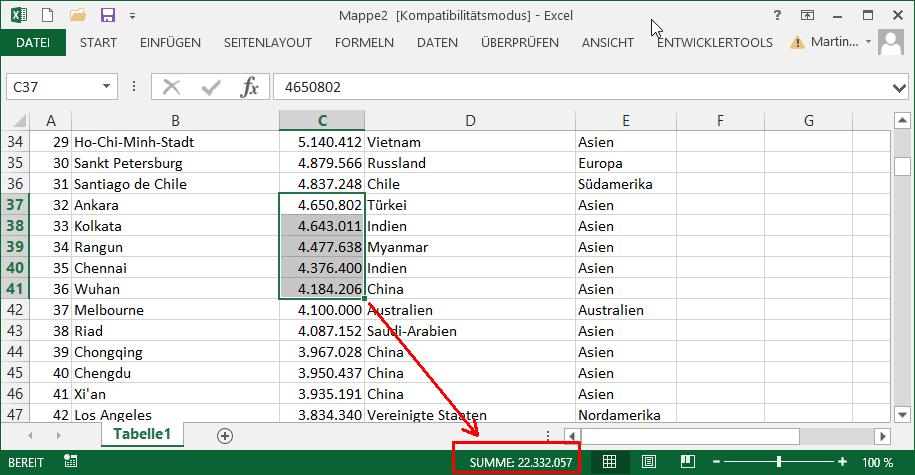 Arbeitsblatt Excel Anzeigen : Excel quickies vol der tabellen experte