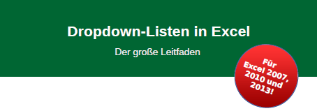 Titel Dropdown-Listen