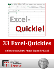 E-Book: 33 Excel-Quickies