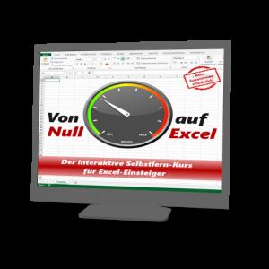Kurs: Von Null auf Excel