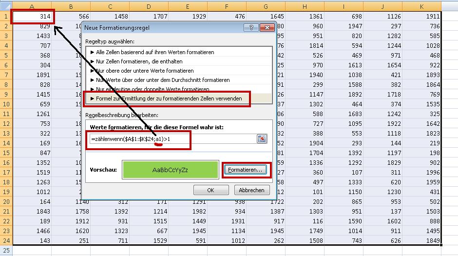 Das doppelte Lottchen, oder: Dublettensuche mit Excel | Der Tabellen ...