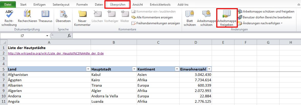 Gemeinsam statt einsam: Teamarbeit in Excel | Der Tabellen-Experte