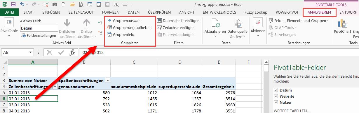 Beste Excel 2013 Gruppe Arbeitsblatt Galerie - Mathe Arbeitsblatt ...
