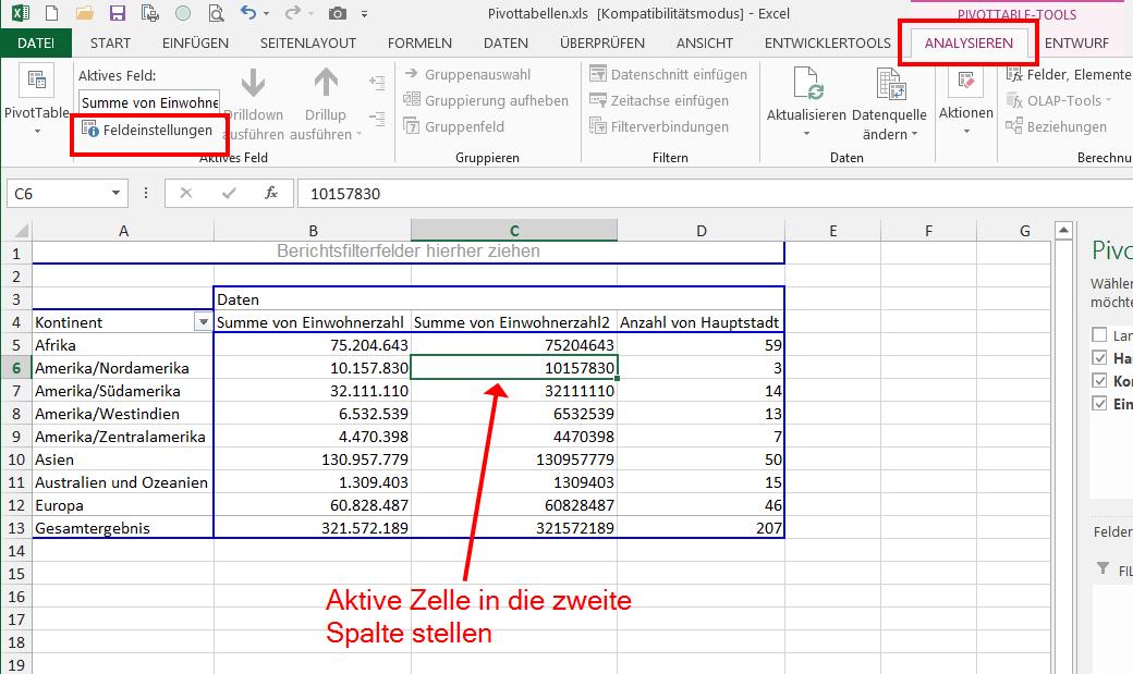 Der beste Freund des Excel-Analysten: Pivot-Tabellen | Der Tabellen ...