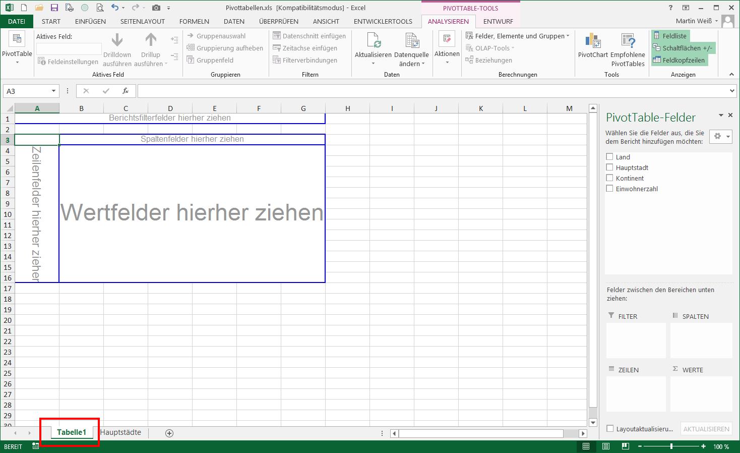 Der beste Freund des Excel-Analysten: Pivot-Tabellen | Der ...